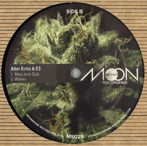 "Alter Echo & E3 - MaryJane 12"" Moonshine Recordings ‎– MS029"