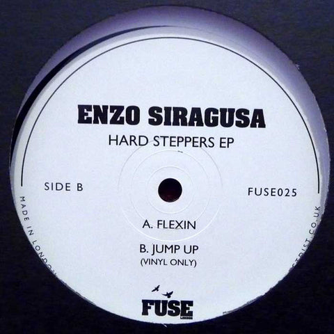 "Enzo Siragusa ‎– Hard Steppers EP 12"" Fuse London ‎– FUSE025"