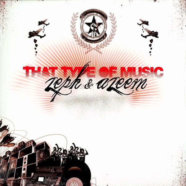 "Zeph & Azeem - That Type Of Music 12"" OM Hip Hop OH 260 SV"