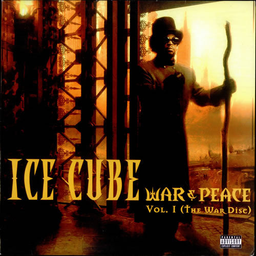 "Ice Cube - War & Peace Vol. 1 (The War Disc) 2x12"" Priority Records PTYLP 161"