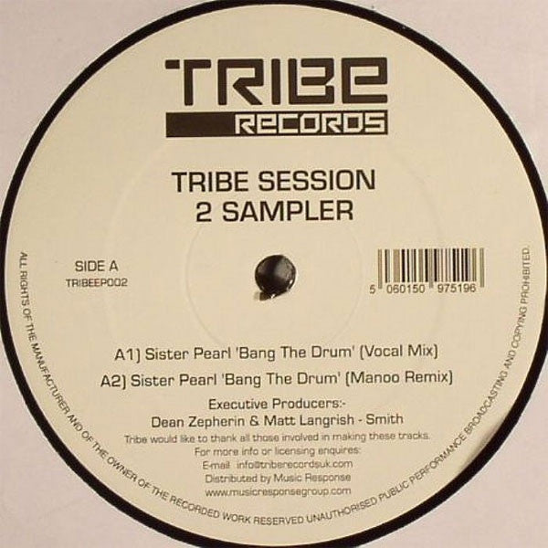 "Various - Tribe Session 2 Sampler 12"" Tribe Records TRIBEEP002"