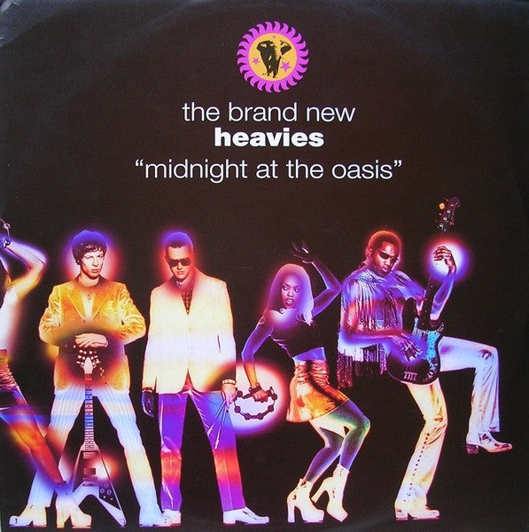 "The Brand New Heavies - Midnight At The Oasis 12"" FFRR BNHX 5 BNHX5, 857 697.1"