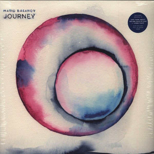 "Mario Basanov ‎– Journey 2x12""+CD Needwant Recordings ‎– NEEDWLP009"