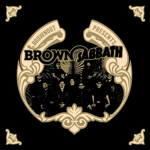 Brownout ‎– Brownout Presents Brown Sabbath (CD) Ubiquity ‎– URCD336