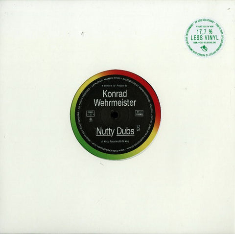 "Konrad Wehrmeister ‎– Nutty Dubs 10"" Public Possession ‎– PP013"