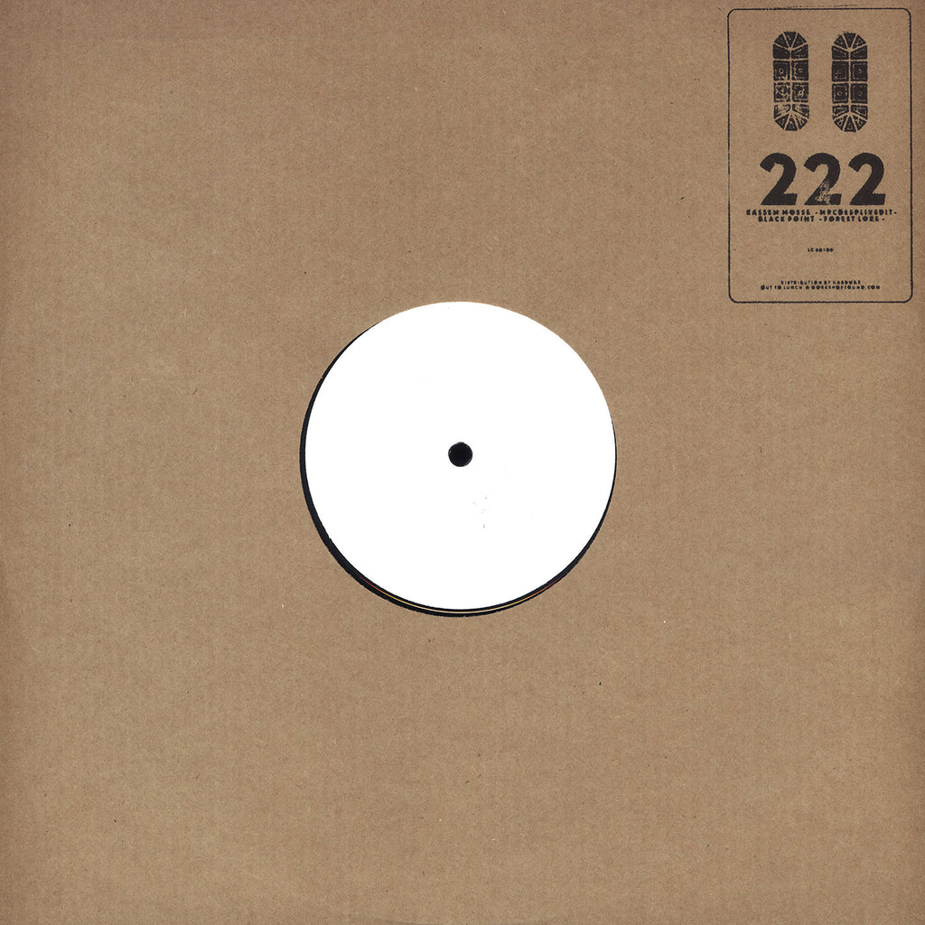 "Kassem Mosse, Black Point - Split Volume 2 12"" Out To Lunch ‎– OTL 222"