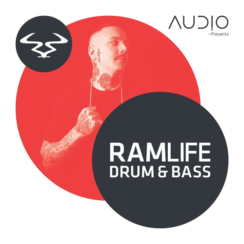 Various - Audio Presents RAMLIFE Drum & Bass (CD) RAM Records RAMMLP21CD