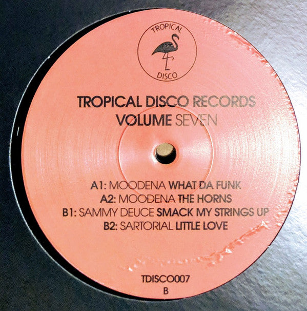 Various - Tropical Disco Records Volume 7 -Tropical Disco ‎– TDISCO007