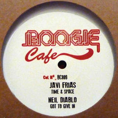 "Various ‎– Bionic Lover EP 12"" Boogie Cafe Records ‎– BC009"
