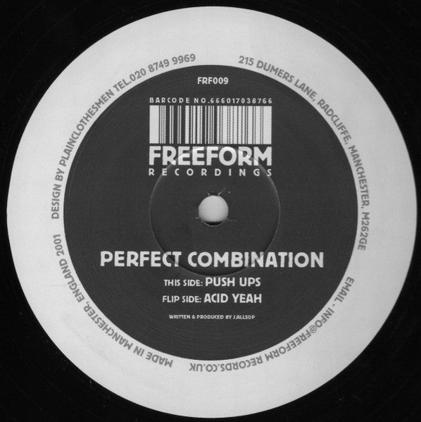 "Perfect Combination - Push Ups / Acid Yeah 12"" Freeform Recordings FRF009"