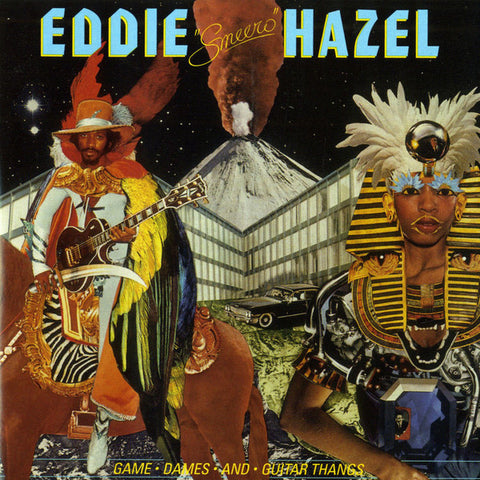 "Eddie Hazel ‎– Game, Dames & Guitar Thangs 12"" Be With Records ‎– BEWITH011LP"