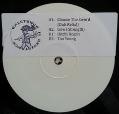 "Persian ‎– Choose The Sword (Dub Refix!) 12"" Existence Is Resistance ‎– ER011"