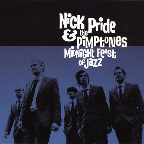 "Nick Pride & The Pimptones - Midnight Feast Of Jazz 12"" Record Kicks RKX 036LP"
