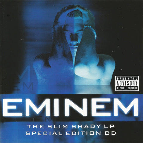 Eminem ‎– The Slim Shady LP (CD) Aftermath Entertainment, Interscope Records, Web Entertainment ‎– 490 546-2