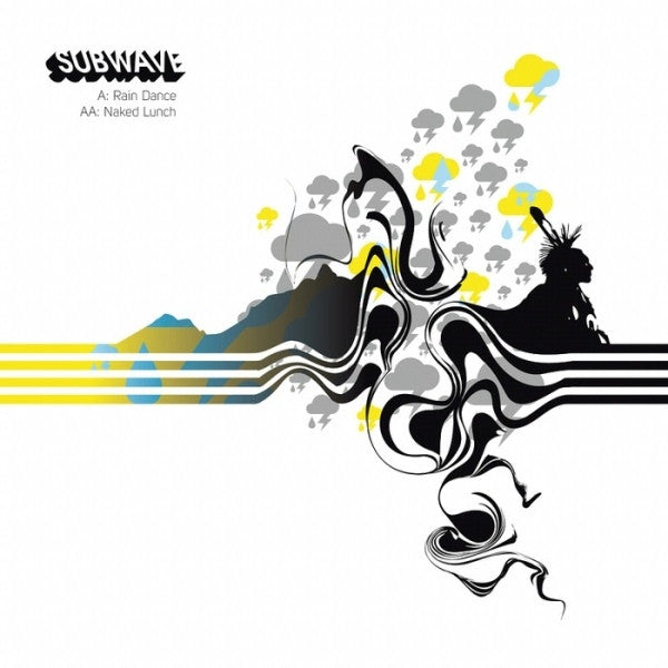 Subwave - Rain Dance / Naked Lunch Metalheadz 12""
