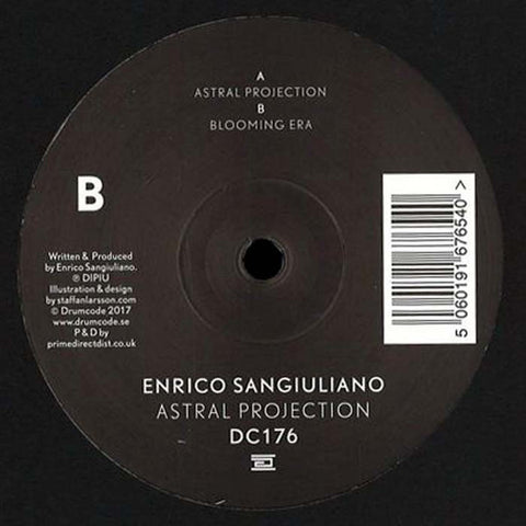 "Enrico Sangiuliano ‎– Astral Projection 12"" Drumcode ‎– DC176"