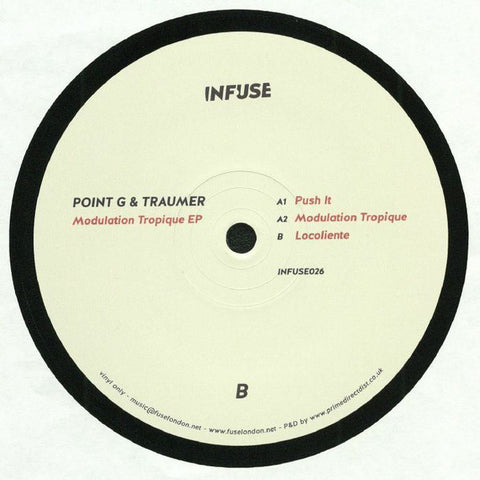 Point G & Traumer ‎– Modulation Tropique EP - Infuse ‎– INFUSE026