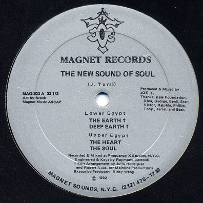 "The New Sound Of Soul ‎– Lower Egypt / Upper Egypt 12"" Magnet Records ‎– MAG-302"