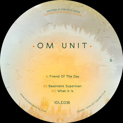 "Om Unit ‎– Friend Of Day 12"" Idle Hands ‎– IDLE036"