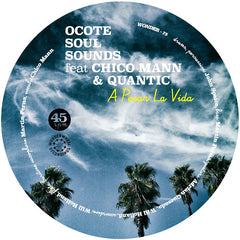 "Ocote Soul Sounds ‎– A Pesar La Vida 7"" Wonderwheel Recordings ‎– WONDER75"