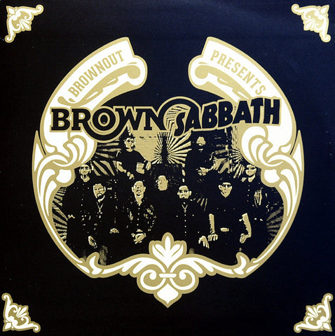 Brownout ‎– Brownout Presents Brown Sabbath - Ubiquity ‎– URLP336
