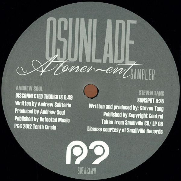 "Osunlade - Atonement Sampler 12"" R2 Records R2030"