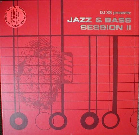 "DJ SS - Jazz & Bass Session II 6x12"" New Identity Recordings NIR LP03"