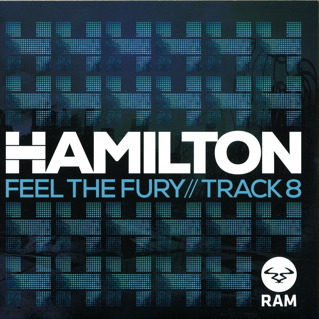 "Hamilton - Feel The Fury / Track 8 12"" RAM Records RAMM182"