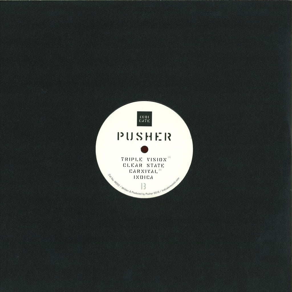 "Pusher ‎– Clear State EP 12"" Indicate ‎– IR002"