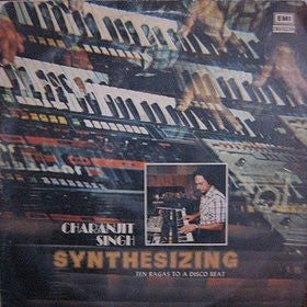 "Charanjit Singh - Synthesizing - Ten Ragas To A Disco Beat 12"" His Master's Voice ECSD. 2912"