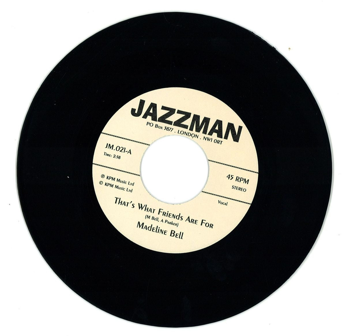 Madeline Bell / Alan Parker – That's What Friends Are For 7
