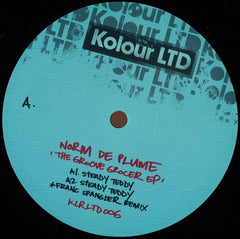 "Norm De Plume ‎– The Groove Grocer EP 12"" Kolour LTD ‎– KLRLTD006"