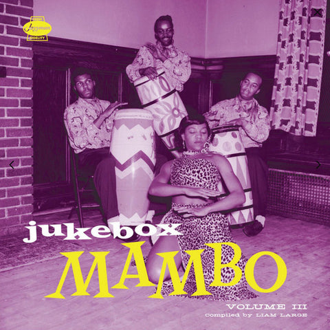 Various ‎– Jukebox Mambo Volume 3 - Jazzman ‎– JMANLP 094