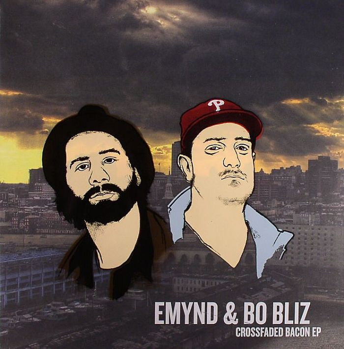 "Emynd & Bo Bliz - Crossfaded Bacon EP 12"" Flamin' Hotz FHZ013"