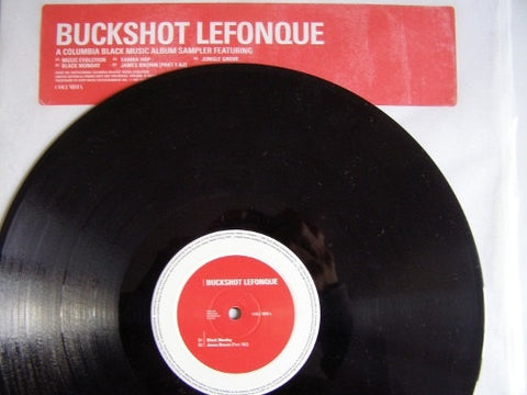 "Buckshot LeFonque - Music Evolution 12"" Columbia XPR 2348"