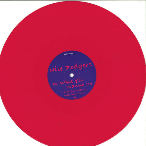 "Nile Rodgers ‎– Do What You Wanna Do 12"" PROMO ‎– 12DWYWD"