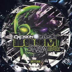 "Excision & Datsik - Boom / Swagga (Remixes) 12"" Rottun Recordings ROT006"