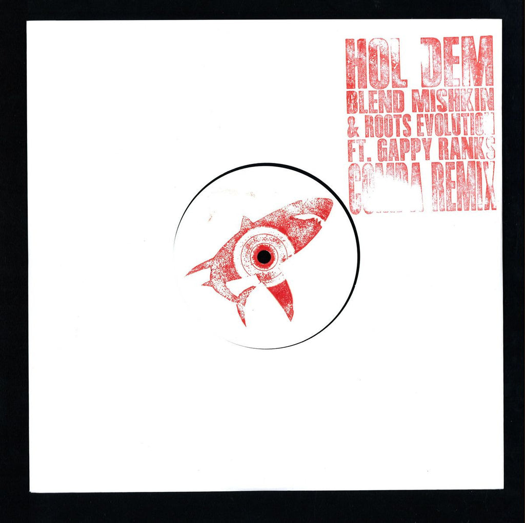 "Blend Mishkin & Roots Evolution / Gappy Ranks ‎– Hol Dem (Compa Remix) 10"" Nice Up Records ‎– NUP023"
