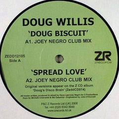 Doug Willis ‎– Doug Biscuit / Spread Love / Dougswana - Z Records ‎– ZEDD12105