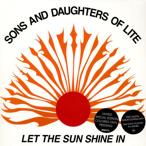 Sons And Daughters Of Lite ‎– Let The Sun Shine In - Luv N' Haight ‎– LHLP034