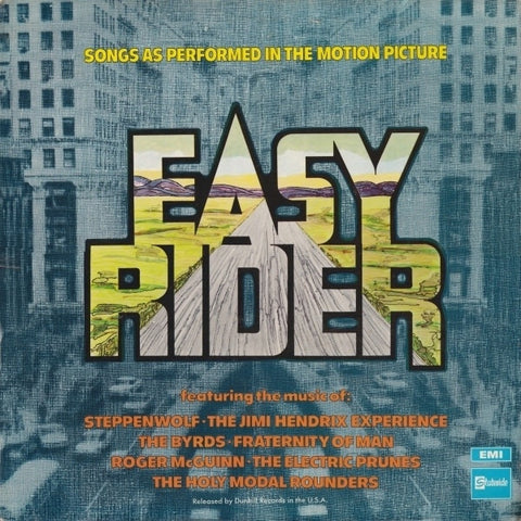 "Various - Easy Rider (Songs As Performed In The Motion Picture) 12"" Stateside SSL 5018"