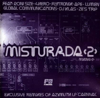 "Azymuth ‎– Misturada 2 12"" Far Out Recordings ‎– FARO 015"