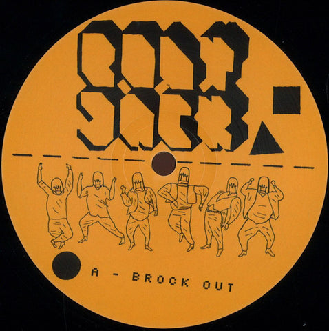 Bodyjack ‎– Brock Out - Unknown To The Unknown ‎– UTTU_043
