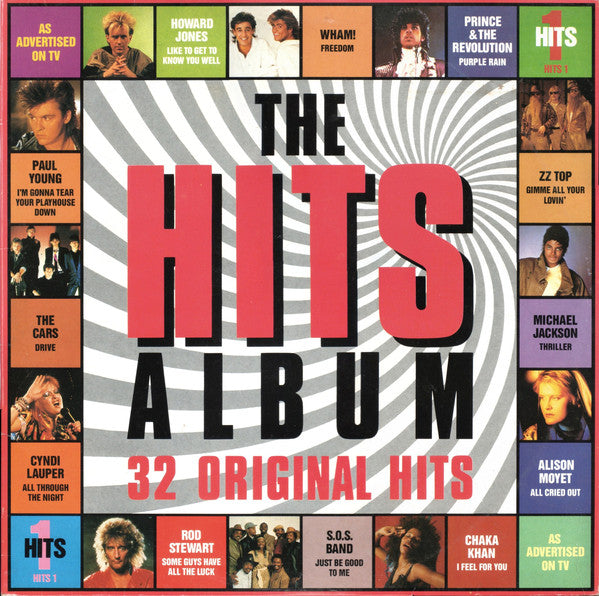 Various - The Hits Album - CBS HITS 1