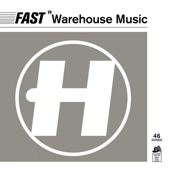 Various ‎– Fast Warehouse Music (CD) Hospital Records ‎– NHS281CD