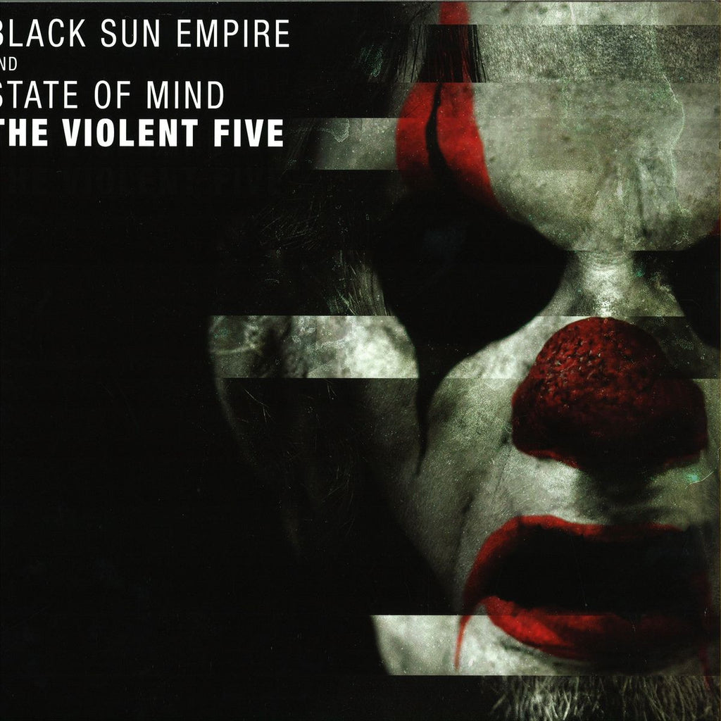 "Black Sun Empire, State Of Mind - The Violent Five 2x12"" Blackout Music NL ‎– BLCKTNL027"
