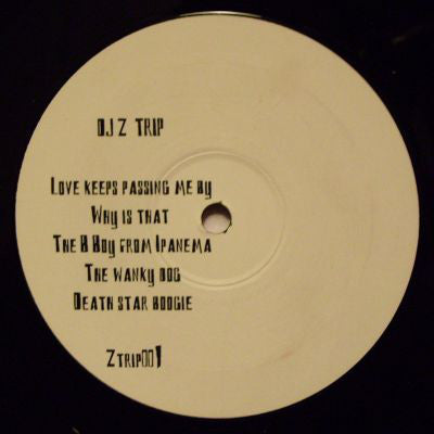 DJ Z-Trip ‎– Untitled - PROMO ‎– ZTRIP001