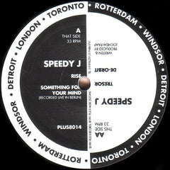 Speedy J - Rise - Plus 8 Records Ltd. PLUS8014
