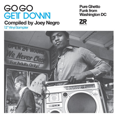 "Various - Go Go Get Down 12"" Vinyl Sampler 12"" Z Records ZEDD12158"