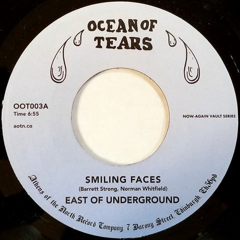 East Of Underground ‎– Smiling Faces - Ocean Of Tears ‎– OOT003